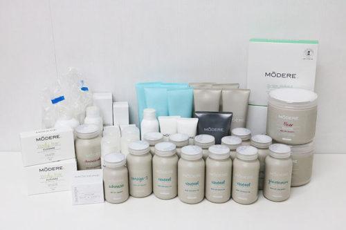 モデーア リベノール サプリメント・化粧品など