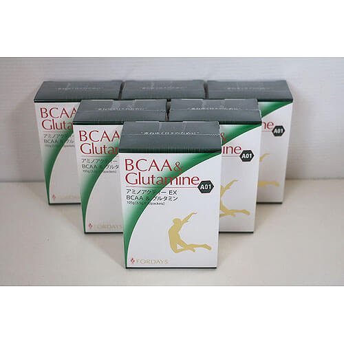 【買取実績】アミノアクティー EX BCAA & グルタミン 6箱