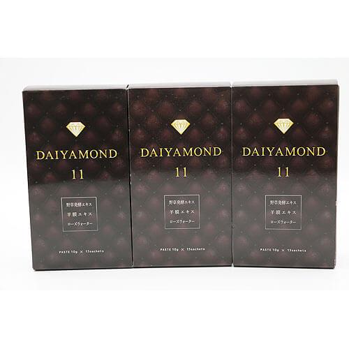 【買取実績】株式会社 ダイヤモンド ライフ DAIYAMOND11 150g 3点